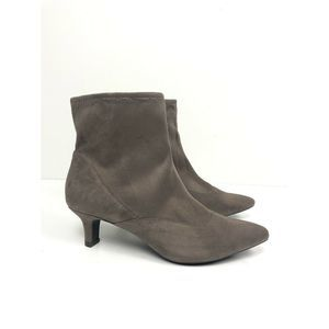 Rockport Kimly Ankle Boot Faux Suede Comfort Boots